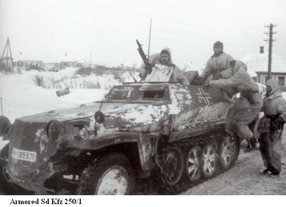 SdKfz 250 - Sonderkraftfahrzeug 250 Sdkfz219