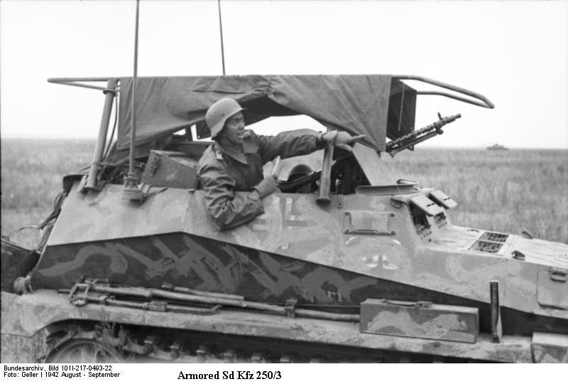 SdKfz 250 - Sonderkraftfahrzeug 250 Sdkfz220