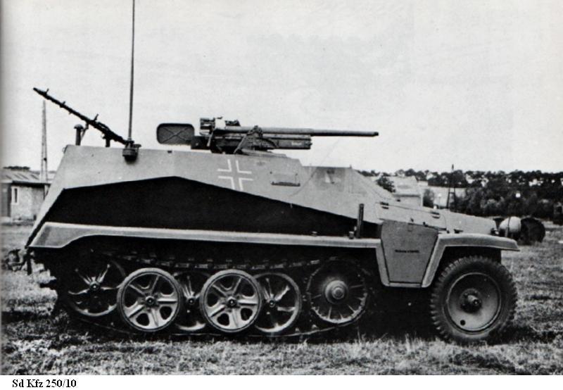 SdKfz 250 - Sonderkraftfahrzeug 250 Sdkfz221