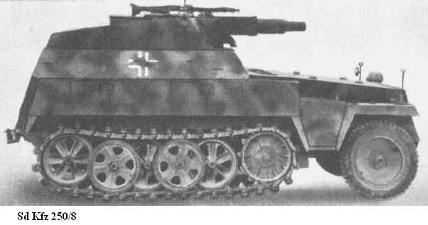 SdKfz 250 - Sonderkraftfahrzeug 250 Sdkfz222