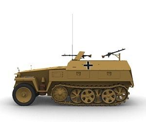 SdKfz 250 - Sonderkraftfahrzeug 250 Sdkfz_21