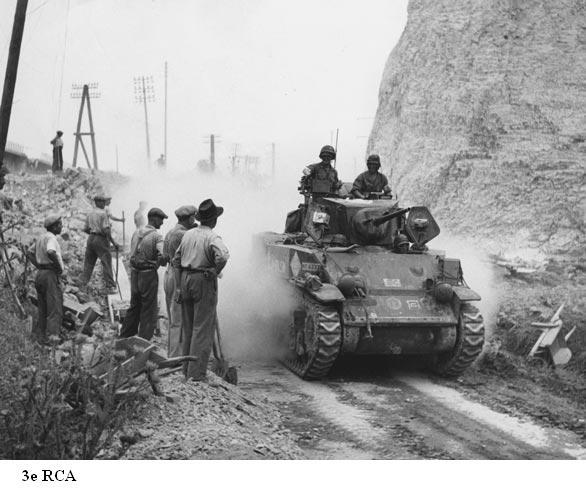 L'Armée française de la Libération de la Provence Sherma12