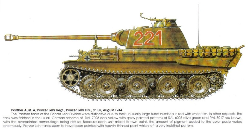 PANZER REGIMENT - Pz.Div. type 44 Tank_w10