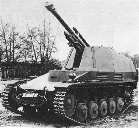 SdKfz 124  - Wespe Wespe110
