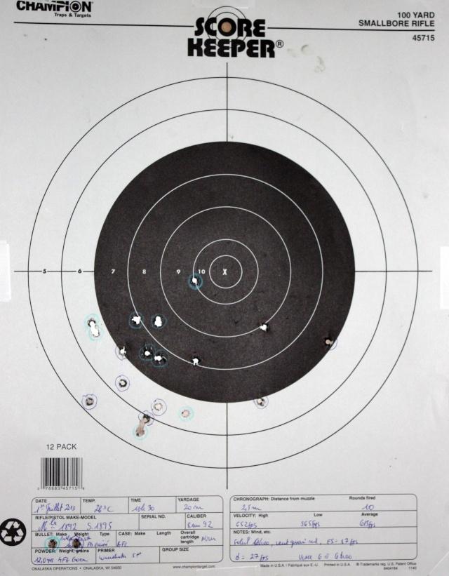 TEST - le 8 mm  1892 - Page 2 Tir92p10