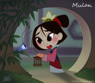 Les Disney Princesses (+ Elsa et Anna) [Topic Unique] - Page 4 Mulan11