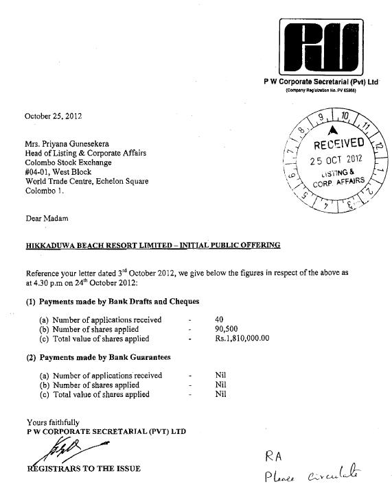 HIKKADUWA BEACH RESORT PLC (CITH.N0000) - Page 2 Hikk10