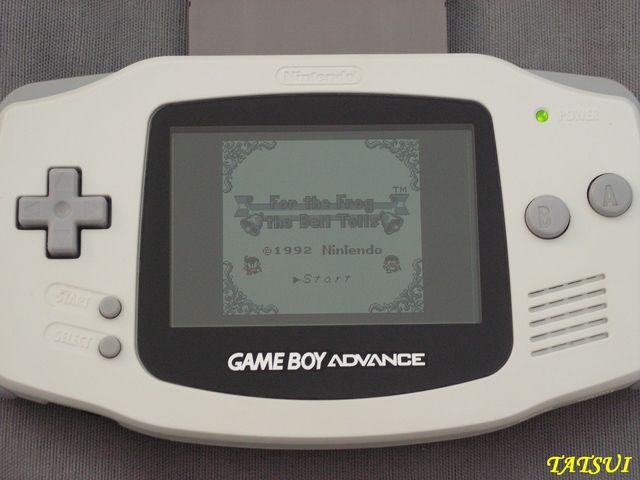 Mes réalisations, Game boy: For the frog the bell tolls Cartmo11