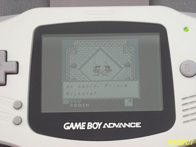 Mes réalisations, Game boy: For the frog the bell tolls Cartmo12