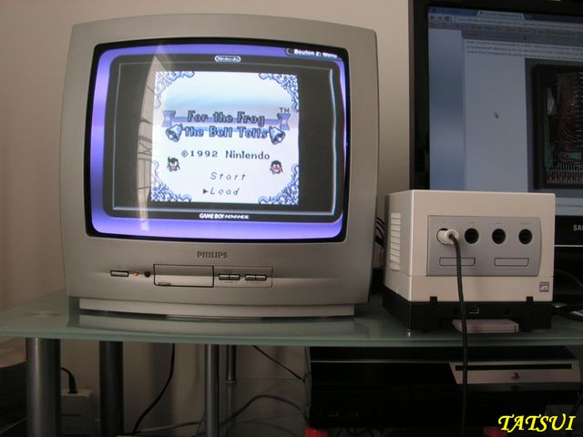 Mes réalisations, Game boy: For the frog the bell tolls Cartmo14
