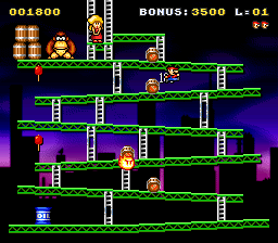 Classic Kong (snes remake) Game_011