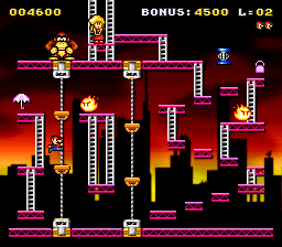 Classic Kong (snes remake) Game_012