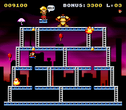 Classic Kong (snes remake) Game_013