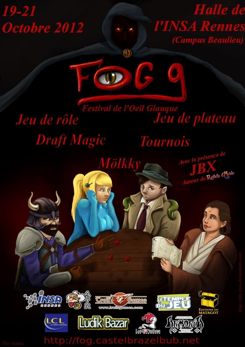 FOG 9 à Rennes du 19 au 21 octobre 2012 Affich10