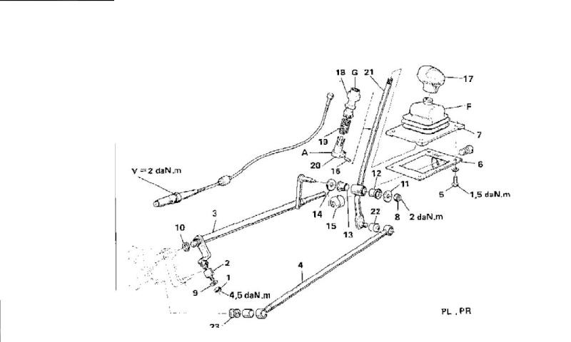 tringlerie levier de vitesse Tringl10