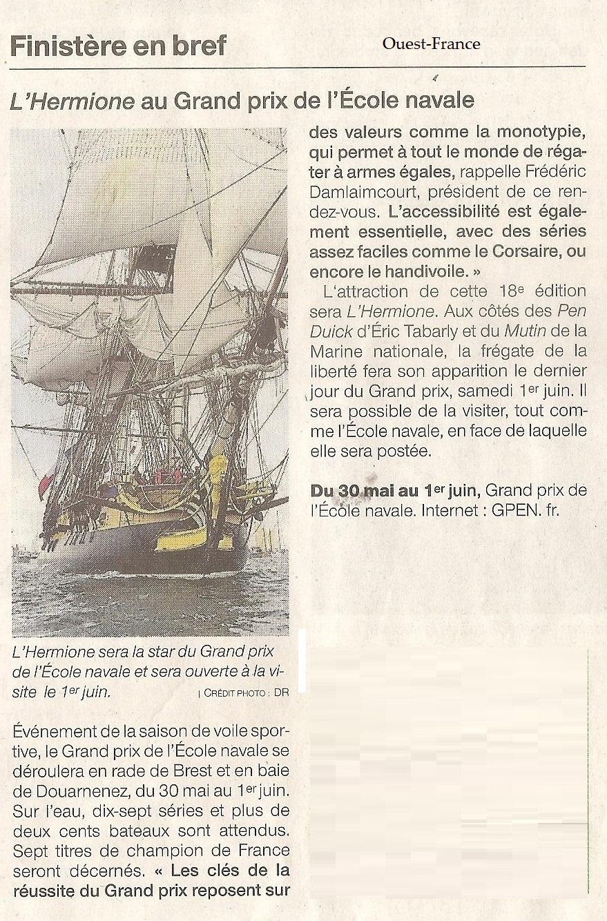 [Marine à voile] L'Hermione - Tome 1 - Page 40 Numzor28
