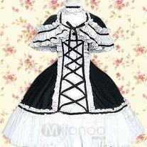 Les vêtements qui vous font rêver Black-10