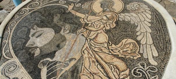 Откриен мозаикот со ликот на Тоше Проески Tose-m12