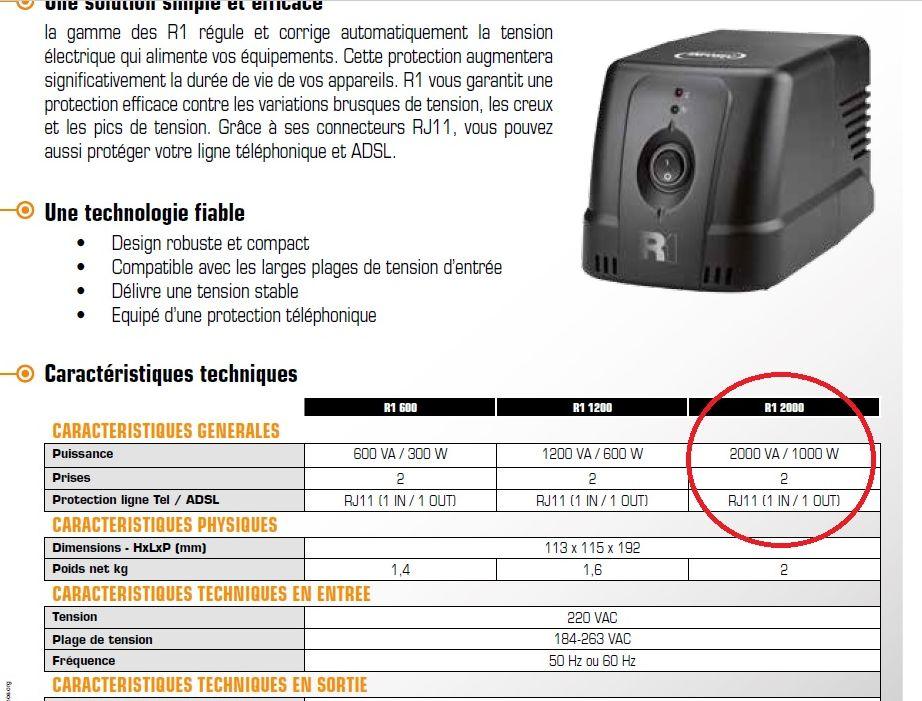 [Maroc/Electricité]   Régulateur de tension Regula10