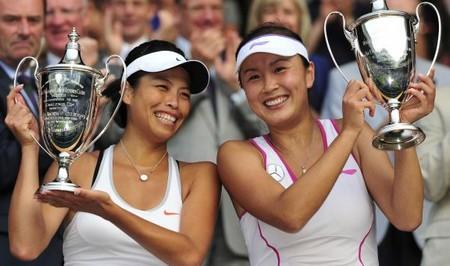 La Chine et la Francophonie s'imposent à Wimbledon Dble-w10
