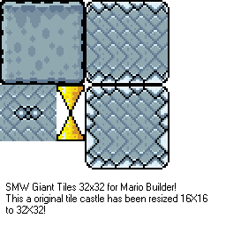 SMW Giant Castle and Spike GFX [Complete!] Smw_gi11