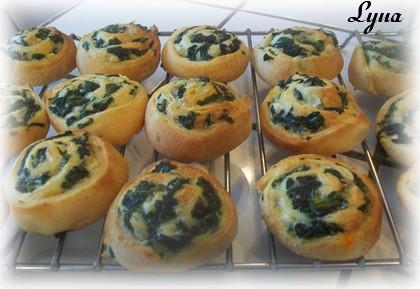 Bouchées aux épinards et au fromage féta Boucha10