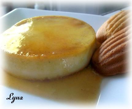 Crème caramel à la purée de citrouille  Crame_11