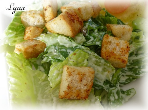 Croûtons pour salade (Actifry) Crouto14