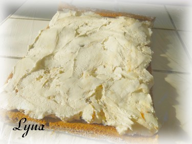 Gâteau roulé à la crème glacée Gateau12