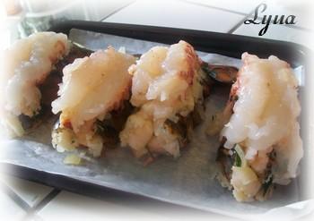 Queues de homard farcies aux crevettes Queu_h10