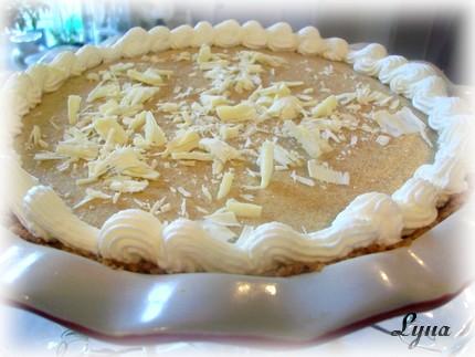 Tarte à la mousse de citrouille et chocolat blanc Tartte10