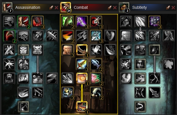 Combat Rogue PvE Guide Cataclysm  Talent10
