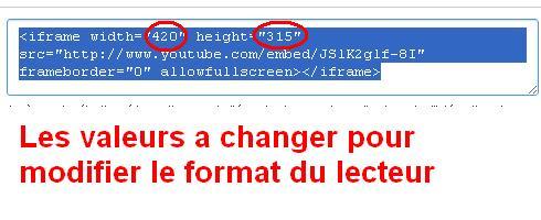 Tuto pour insérer une vidéo sur le forum - Page 2 Change10