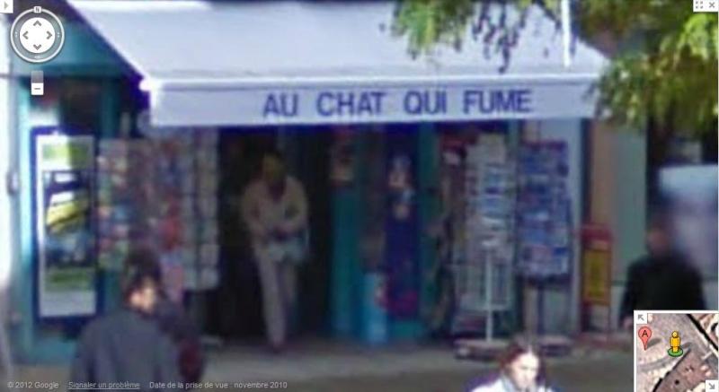 STREET VIEW : les noms de lieu + ou - amusant - Page 4 Chat_q10