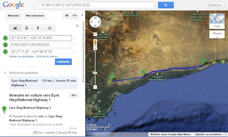 La plus grande route en ligne droite d'Australie Eyre10