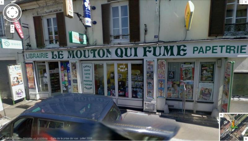STREET VIEW : les noms de lieu + ou - amusant - Page 4 Mouton10