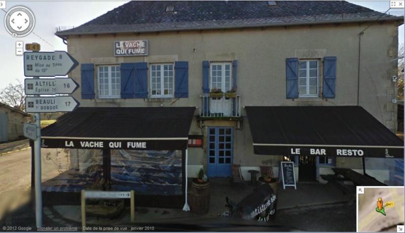 STREET VIEW : les noms de lieu + ou - amusant - Page 4 Vache10