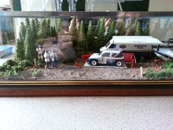 Gary GMR Models Latest Diorama.... McRae 6R4 COI.... Updated Pic's added 20120910