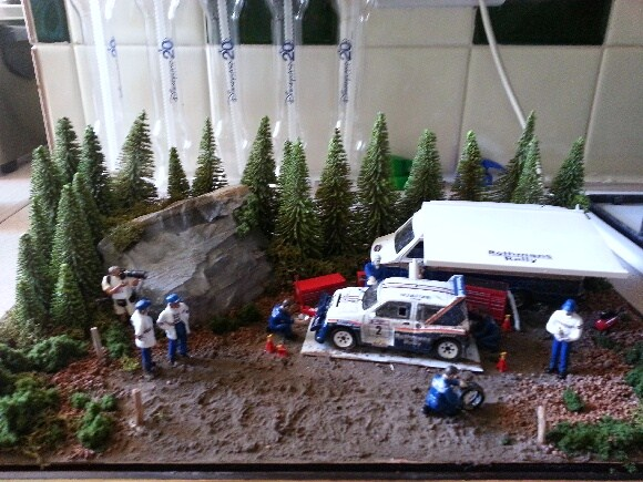 Gary GMR Models Latest Diorama.... McRae 6R4 COI.... Updated Pic's added 20120911