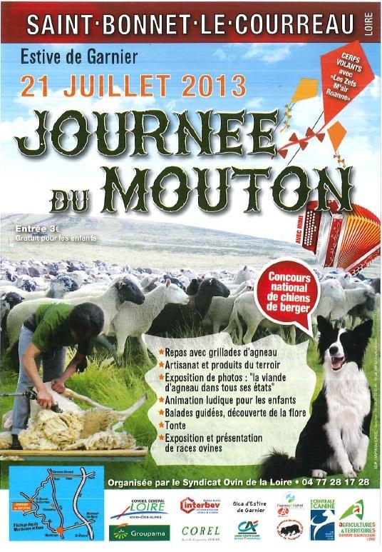 2013 / fete du mouton st Bonnet le Courreau / Dimanche 21 Juillet Captur10