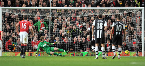Newcastle v Man United – Team Line-Ups Newcas10