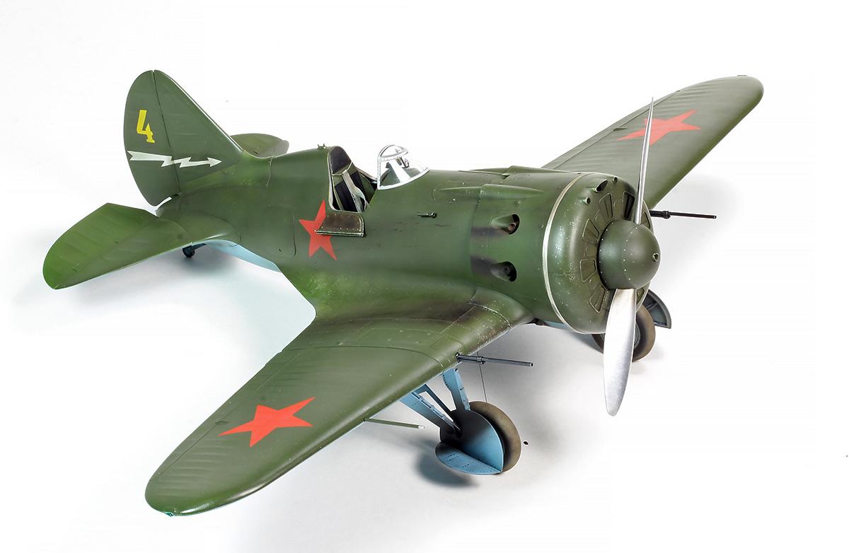 Polikarpov I-16 Type 28 Img_2312