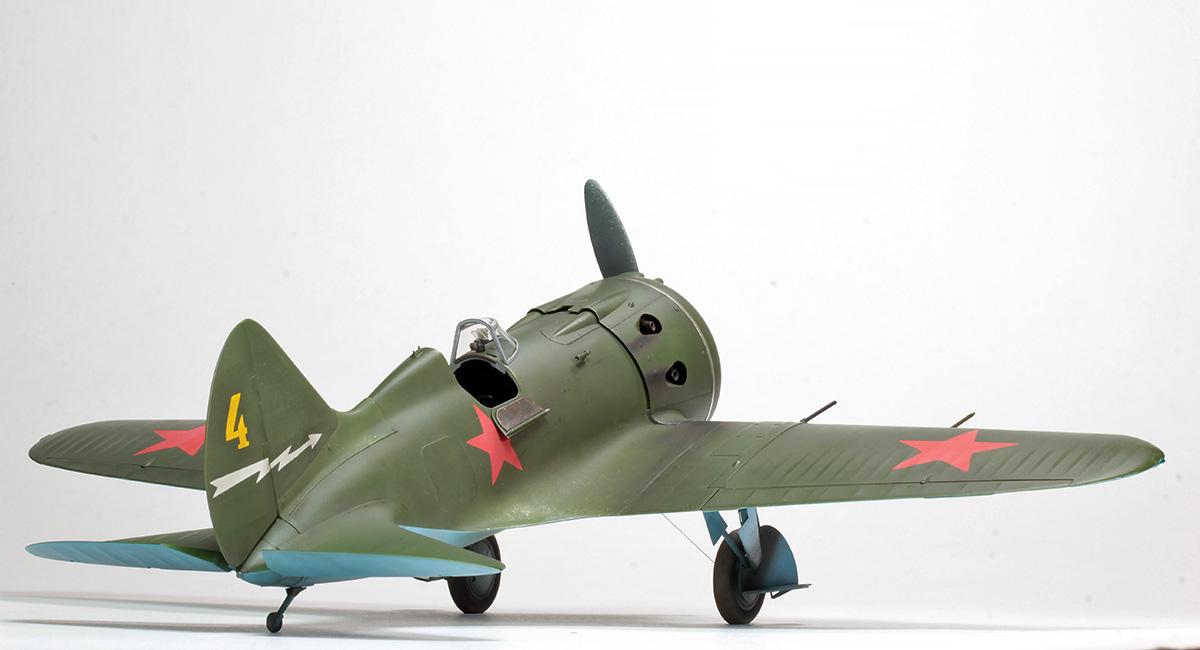 Polikarpov I-16 Type 28 Img_2313
