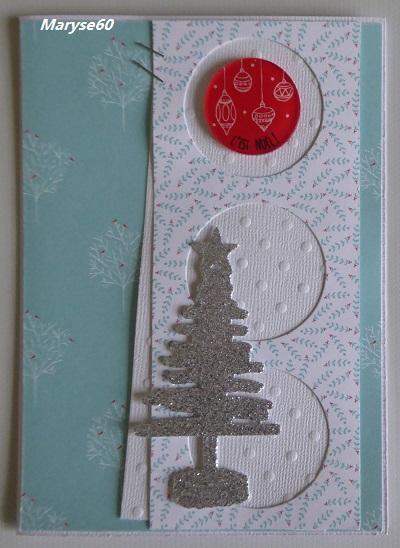 2° défi de cartes de Noël 13/11 - Page 2 Carte_79