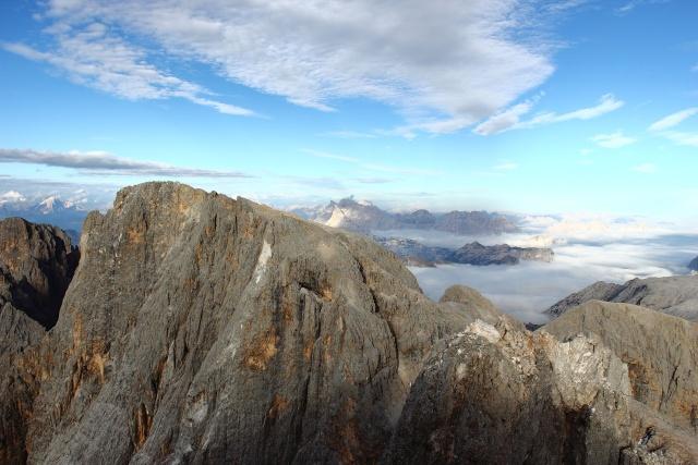 [Pale di San Martino] Cimon della Pala (3184 m) Dpp_0932