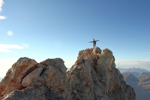 [Pale di San Martino] Cimon della Pala (3184 m) Dpp_0934