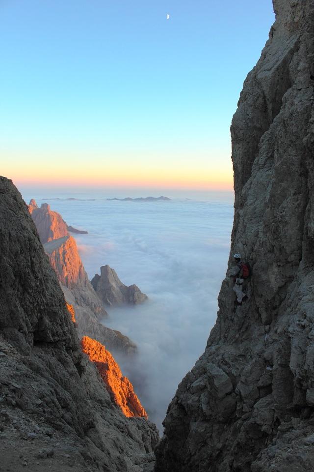 [Pale di San Martino] Cimon della Pala (3184 m) Dpp_0936
