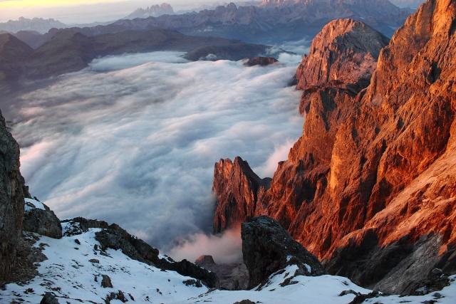 [Pale di San Martino] Cimon della Pala (3184 m) Dpp_0937