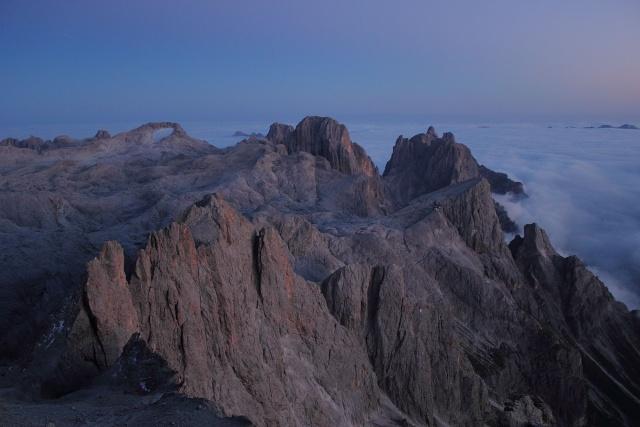 [Pale di San Martino] Cimon della Pala (3184 m) Dpp_0938