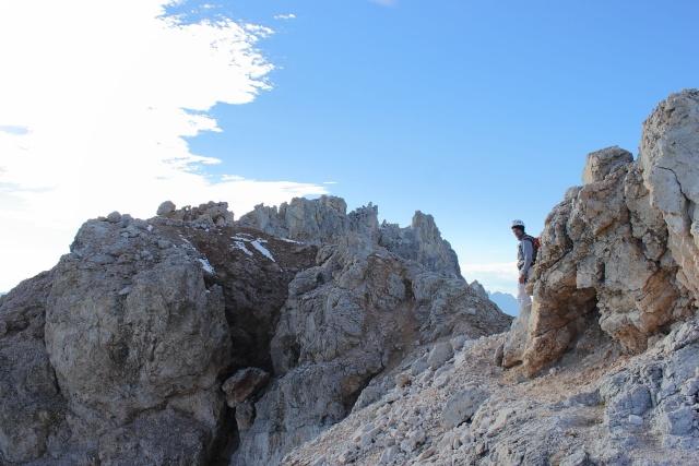 [Pale di San Martino] Cimon della Pala (3184 m) - Pagina 2 Dpp_1010